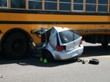 vehicle to vehicle school bus accident 2