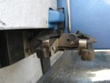 Wheel chair and passenger securement, u-clamp open position sample 1