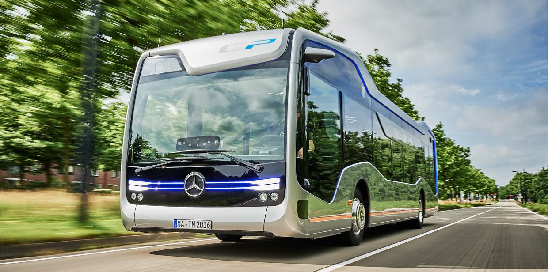 Mercedes autonomous bus